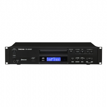Tascam CD-200BT CD Player with Bluetooth Connectivity
